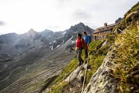 Klettern in Vorarlberg im Montafon   zarell.com