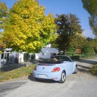 Niederbayerische Ausfahrt mit dem VW Beetle Cabrio