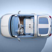 "Showcar ""Spiaggina"" auf Basis des Fiat 500 Cabrio"