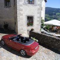 Unterwegs im herbstlichen Eisacktal im BMW Cabrio