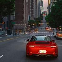 Durch die Nacht von L.A. im 911 Targa 4 GTS