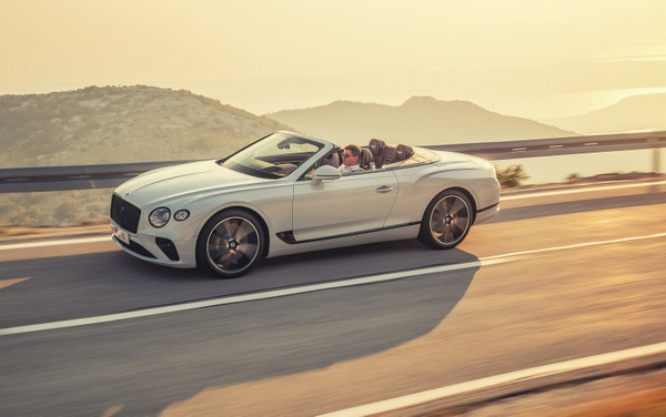 Bentley Continental GT Convertible 8