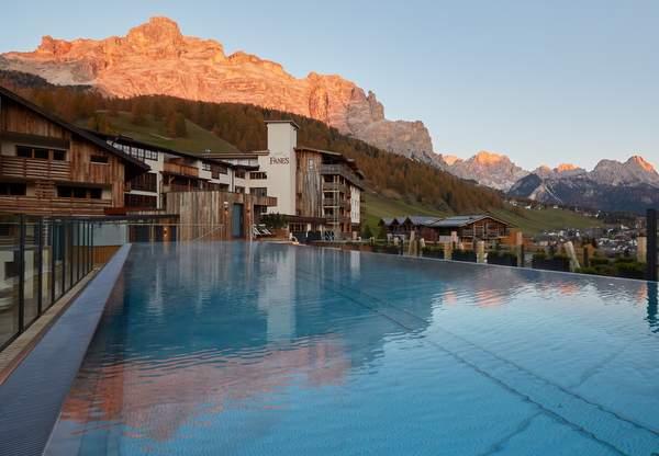 Hotel Fanes - Sky Pool 2 © Hotel Fanes
