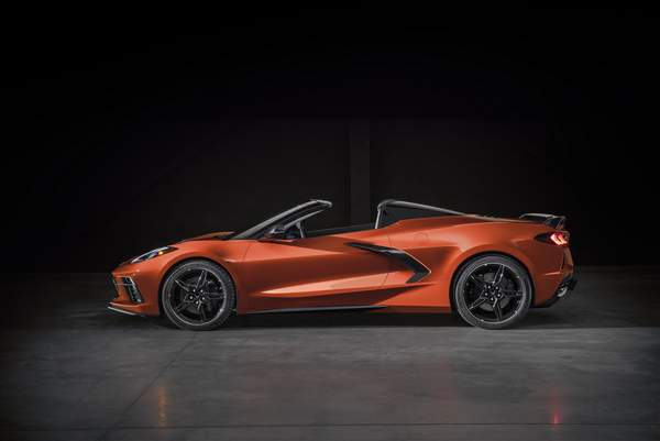 Chevrolet Corvette Stingray Convertible.