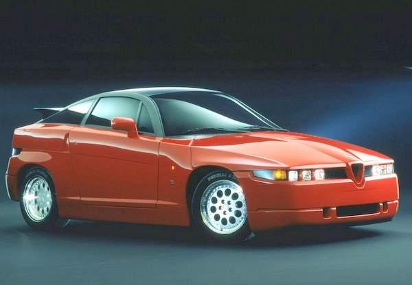 Alfa Romeo SZ (1989–1993).