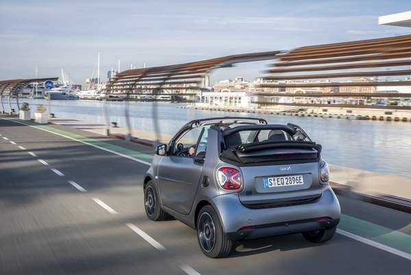 Smart EQ Fortwo Cabrio.
