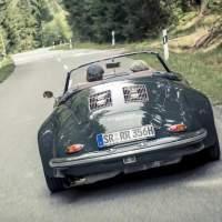 Porsche 356 B Roadster mit Turbo-Technik von Walter Röhrl