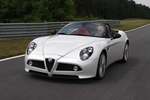 Alfa Romeo 8C Competizione Spider (2008–2010). .