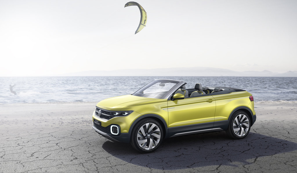 Volkswagen Studie T-Cross Breeze
